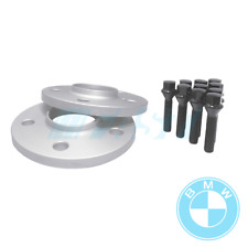 BMW Spacers Hub Centric 12mm | 5x120, 72.56 | 2 Piece Kit with Black Bolts