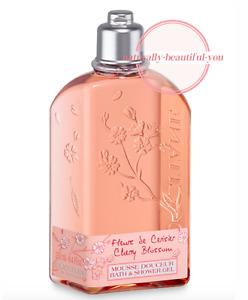 L'Occitane Cherry Blossom Shower Gel 250ml Delight Cleansing Nourishing Perfume