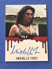 True Blood Premiere Edition Autograph Card by Michelle Forbes as Maryann HB