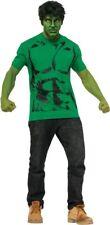 Captain America Civil War Hulk Adult Tee Shirt -Wig Costume Marvel Rubies 820026