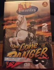 The Lone Ranger TV Favorites 10 Episodes DVD 2001 2 Disc Set Brand New