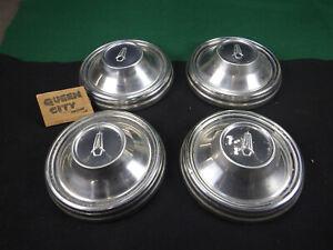 Set of 4 1968 Plymouth dog dish/poverty hub caps Roadrunner Satellite