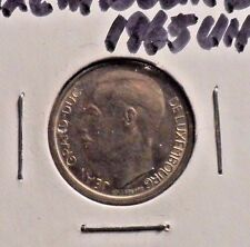 UNCIRCULATED 1965 1 FRANC LUXEMBOURG COIN (101416)1
