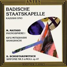 Masataka Matsuo • Phonosphere I CD