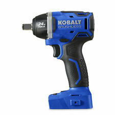New Listingkobalt 24 Volt Max 12 In Drive Brushless Cordless Impact Wrench Tool Only