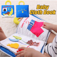 Nit Soft Baby Cloth Book Early Educational Newborn Toys for 0-36 Months Infants