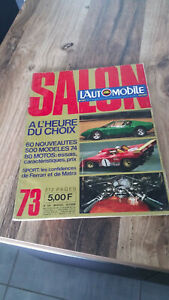 Magazine L'Automobile Salon 1973