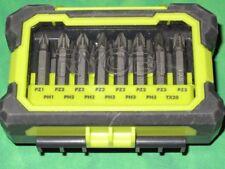 Ryobi 15 Piece Drill & Driving Screwdriver Bit Set 50mm
