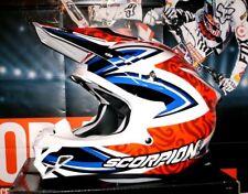 SCORPION EXO VX-15 Revenge Pumpsystem Cross Enduro Helm Honda Yamaha YZ-F NEU XL