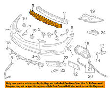 MITSUBISHI OEM 06-12 Eclipse Front Bumper-Cushion MR987717