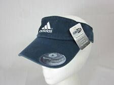 Adidas Climalite Visor Caps Running Hat Golf Navy Adjustable Hats Womens Fit