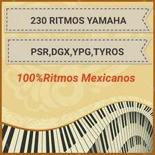 230 Ritmos Yamaha , PSR, DGX, YPG, TYROS