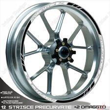 Trims Stickers Sport Wheel Wheel Honda VFR 800 x Crossrunner Black White