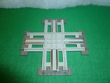 LEGO TRAIN TRENO EISENBAHN ZUG 7857 12V CROSSING ELECTRIC RAILS INCROCIO