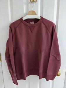 The Real McCoy's red sweatshirt