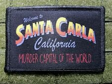 The Lost Boys - Welcome to Santa Carla Tactical hook Morale Patch California