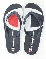 Champion Life Flip Flops Split C Logo Men Shoes Sandals New 2 Color Navy Sz 7-14
