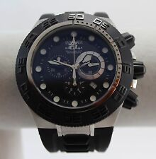 Men's Invicta Project ABOA Subaqua Sport 1530 Black/Silver Swiss Made