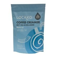 Locako Coffee Creamer Raw Natural With MCT Oil & Grass Fed Collagen 320g