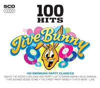 Various Artists : 100 Hits: Jive Bunny CD Box Set 5 discs (2010) ***NEW***