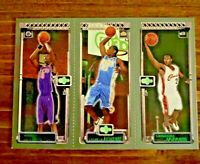 2003-2004 Topps Matrix Chris Bosh Carmelo Anthony LeBron James MINT FROM PACK