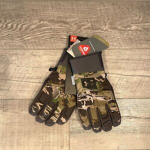 Under Armour Gore Tex Windstoppper Camo Hunting Glove 1318575-940 Size XL