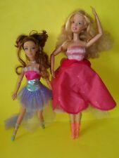 barbie Geneviev 2006 12 principesse danzanti + gemella mora mini doll