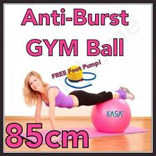 85cm Pink Swiss Ball ideal for all Exercise. Pilates Yoga for Home. Anti burst