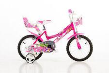 16 Zoll 166 R Dino Bikes Mädchenfahrrad  Kinderfahrrad Kinderrad Rad Bike Fahrra