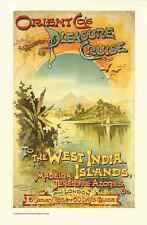 Metal Sign Cruise Ship Liner Travel Poster C1 A4 12X8 Aluminium Vintage Retro St