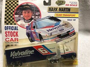 Vintage 1992 MARK MARTIN 6 VALVOLINE FORD TEAM TRANSPORTER ROAD CHAMPS 1/87 Oil