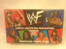 NEW - WORLD WRESTLING FEDERATION - WRESTLING TRIVIA GAME - 2ND EDITION -1998