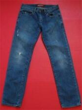 Arizona Sz 30 x 32 Skinny Straight 100% Ctn Distressed Denim 5-Pkt Jeans Ins 31