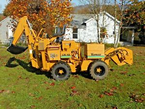 2005 VERMEER LM42 CABLE PLOW BACKHOE BORING ATTACHMENT