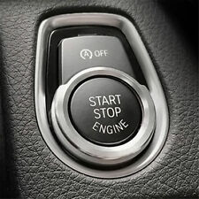 BMW 1 2 3 4 SERIES PUSH START IGNITION BUTTON SURROUND UPGRADE IN CHROME COOL