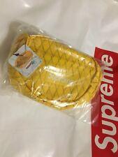 Supreme FW18 Box Logo TNF CDG Shoulder Bag Yellow Waist Bag Duffle Backpack