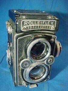 Vintage ROLLEIFLEX 3.5C TLR Medium Format CAMERA 1:3.5 F=75MM