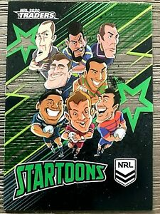 2020 NRL TRADERS 'STARTOONS' TRADING CARD - GROUP A (ST05)