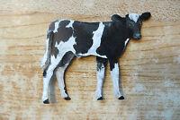 early 20thc.De Laval Cream Separator New Holstein cow calf tin litho farm sign