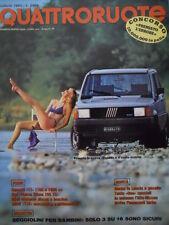 Quattroruote 333 1983 -Test Renault 11 cc 1100 e 1400 - BMW 732   [Q39]
