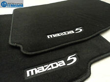 MAZDA 5 2006-2010 NEW OEM FRONT BLACK FLOOR MATS
