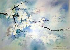 Terrific LE Print by Brenda Harris Tustian - Dogwoods in the Spring