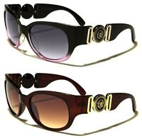 New Women Designer Luxury Oval Retro Black Oversized Sunglasses UV400 LH5365