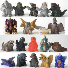 Bandai 2000 Candy Toy Godzilla Shoshingecki Finger Puppet Full Set 19 Megalon