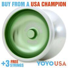 Duncan New Metal Drifter Yo-Yo YoYo 3574XP  - Green + FREE STRINGS