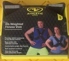 Athletic Works Fitness Vest 8 lb Weighted Fitness Vest
