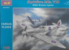 Spitfire Mk. VII WW II British Fighter 1/48 Scale ICM 48062 (Free shipping)