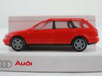 Rietze/Audi 2.00.000.00050.002 Audi A4 Avant (1996) in laserrot 1:87/H0 NEU/OVP