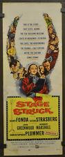 STAGE STRUCK 1958 ORIGINAL 14X36 MOVIE POSTER HENRY FONDA SUSAN STRASBERG