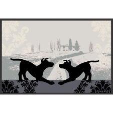Waschbare Fussmatte Dogs in Love - Hundeliebe ca 50x75cm wash+dry Fußabstreifer